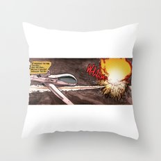 Remote Wham! Throw Pillow