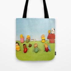 Real Peanuts Tote Bag