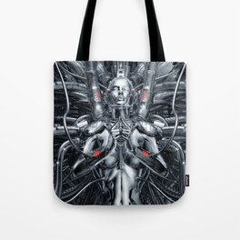 Maiden In The Machine Tote Bag