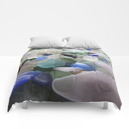 Sea Glass Assortment 6 Comforters