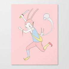 反擊 COUNTER PUNCH Canvas Print
