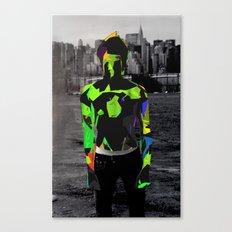 Boy Urban Canvas Print