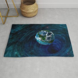 Earth Is In Trouble Rug
