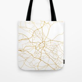 DRESDEN GERMANY CITY STREET MAP ART Tote Bag
