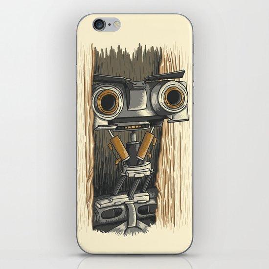 Here's Johnny 5! iPhone & iPod Skin