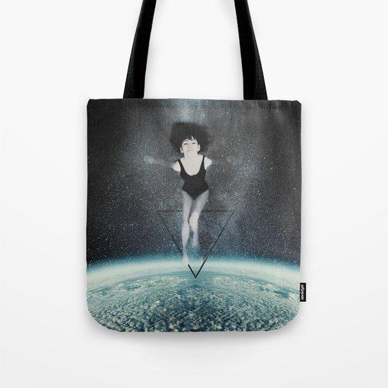 Interdimensional Travel Tote Bag