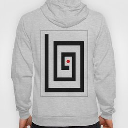 Focus on red point - Vector Hoody