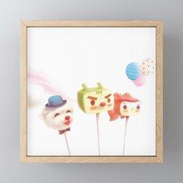 Cake Pops Framed Mini Art Print