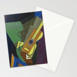 """Juan Gris """"Guitare sur une table (Guitar on a table)"""" Stationery Cards"""
