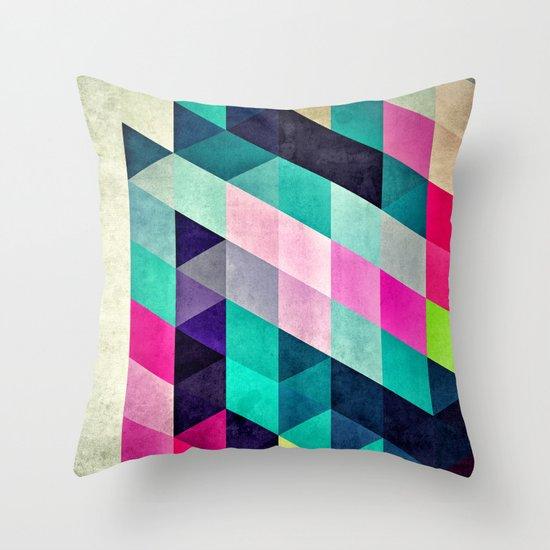 Cyrvynne xyx Throw Pillow