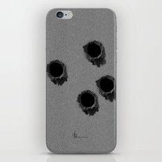 Bullet holes iPhone & iPod Skin