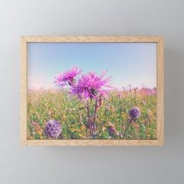 Purple Haze Framed Mini Art Print