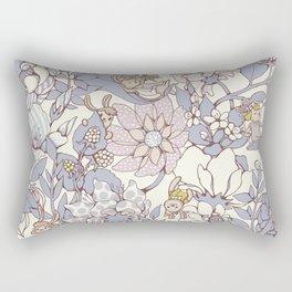 Garden party - jasmine tea version Rectangular Pillow
