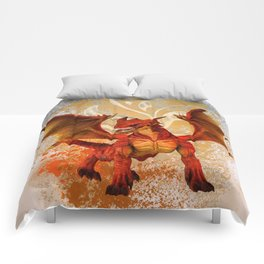Red Dragon Comforters