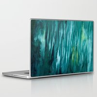 turquoise Laptop & iPad Skins featuring Turquoise  by Mich Li
