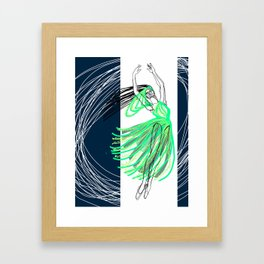Ballet Illustrated #8 Framed Art Print