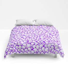 Gothic Crowd ULTRA VIOLET Comforters