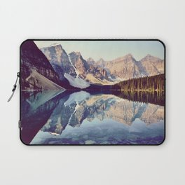 Moraine Lake Reflection Laptop Sleeve