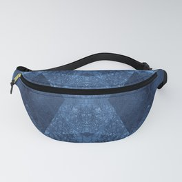 P19-CB2-BLUE ABSTRACT PATTERN Fanny Pack