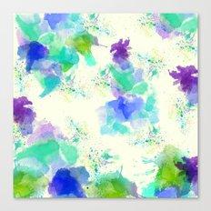Printed Silk Ocean Spray Canvas Print