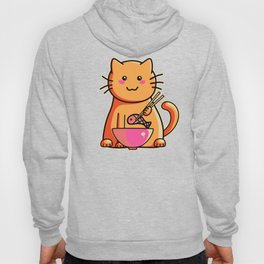 A cat's favourite meal Hoody