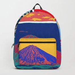 Mt. Fuji Pop Art Backpack