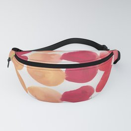 7  | 190408 Red Abstract Watercolour Fanny Pack
