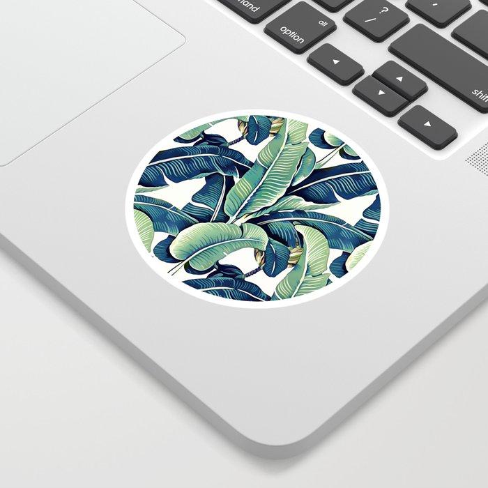 Banana leaves Sticker