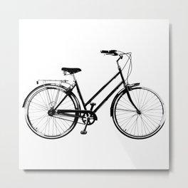 Vintage Bicycles Metal Print
