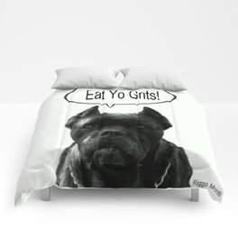 Riggo Monti Design #18 - Eat Yo Grits! Comforters