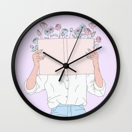 Read All About It Wall Clock