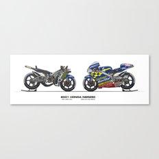 Honda NSR250 - 2001 Daijiro Kato Canvas Print