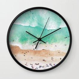 Beach Mood Wall Clock