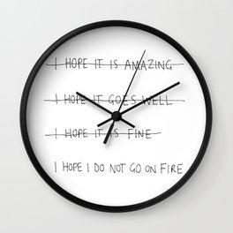 expectations Wall Clock