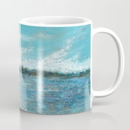 Bayside Oil Pastel Drawing 1 Coffee Mug