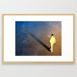 The Long Shadow Framed Art Print
