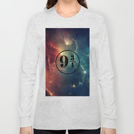 Platform 9 3/4 Nebula HP Long Sleeve T-shirt