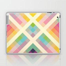 Retro Rainbow Laptop & iPad Skin