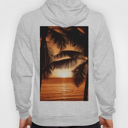Perfect Palm Sunset (Color) Hoody