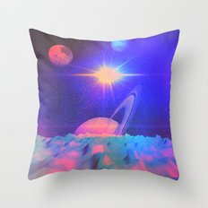 The Great Influences of the Star (Chorus) Throw Pillow