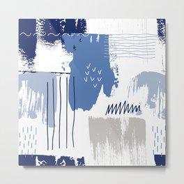 Artisan Pattern Metal Print