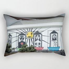 Decorated wall Lisbon Rectangular Pillow