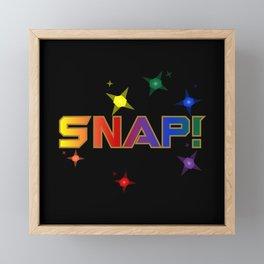 Oh Snap! Framed Mini Art Print
