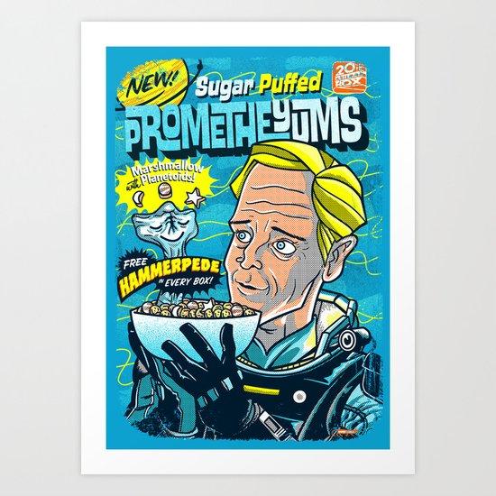 PrometheYUMS v2 Art Print