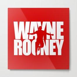 Name: Rooney Metal Print