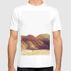 Oregon Painted Hills Mens Fitted Tee White MEDIUM