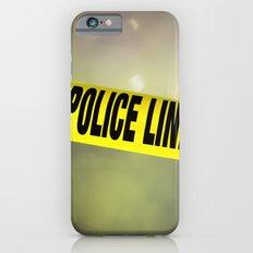 Police Line Do  Not Cross iPhone 6s Slim Case
