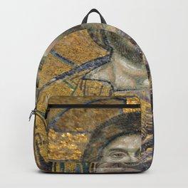 Christ Pantocrator Mosiac Upper Gallery Hagia Sophia Backpack