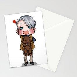 Viktor and Makkachin Stationery Cards