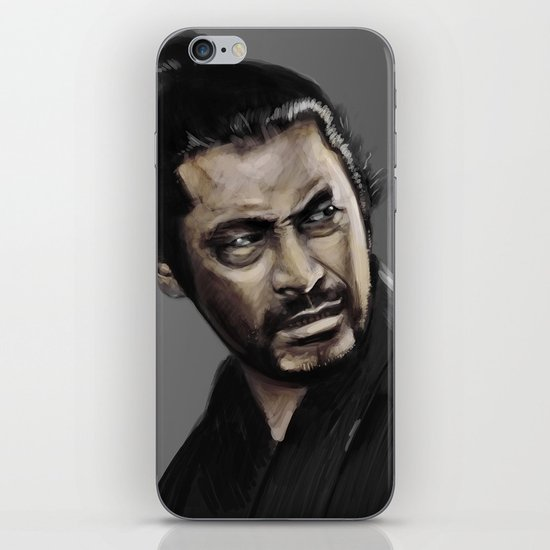 Yojimbo iPhone & iPod Skin